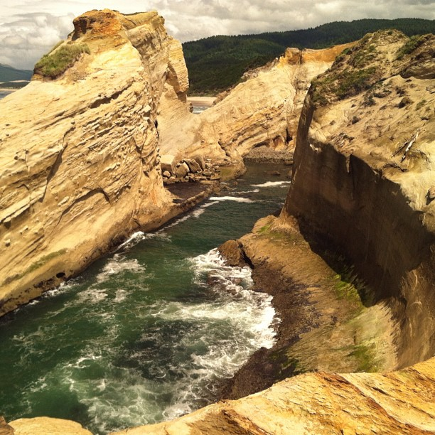 Cape Kiwanda Cliffs - Photo by Elias Carlson