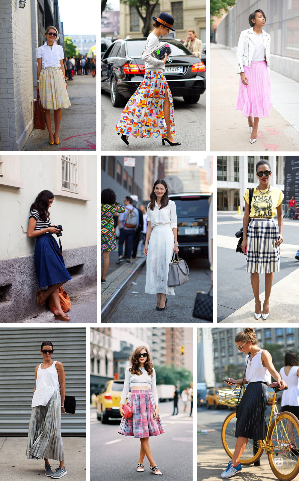 Pleated-Skirts